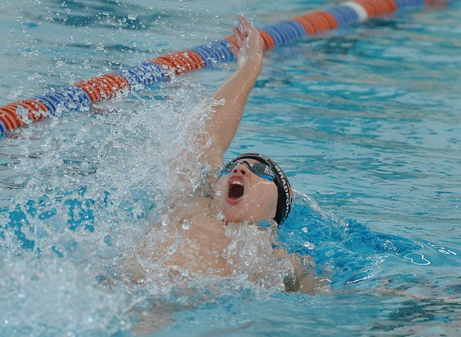 Cathedral Prep sophomore Mitchell Bradford is seeded first in the 200-yard individual medley for this weekend's District 10 Class 2A swimming championships.