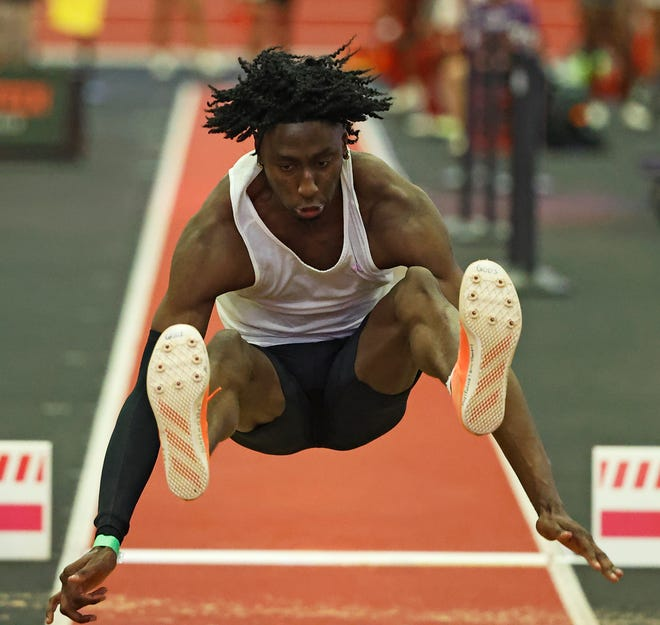 All-America long jumper Justin Hall is one of 24 Texas Tech seniors scheduled to compete in their last home meet, the Corky/Crofoot Shootout, on Friday and Saturday at the Fuller Track Complex.