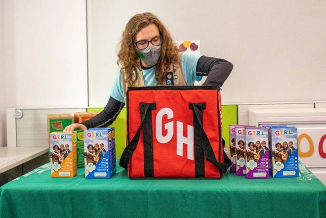 Girl Scouts have joined with GrubHub to deliver your favorite Girl Scout cookies.