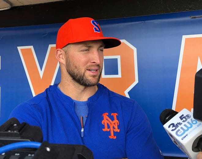 Tim Tebow has been invited to big league spring training by the New York Mets, taking one of 75 spots after Major League Baseball limited spring roster sizes as a coronavirus precaution.
