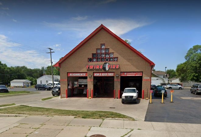 Twin's Tire Service, located at 20911 Van Dyke Ave. in Warren.