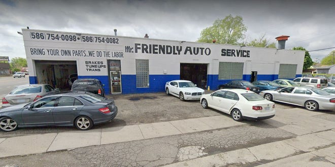 Mr. Friendly Auto Service at 23677 Van Dyke Ave. in Warren.