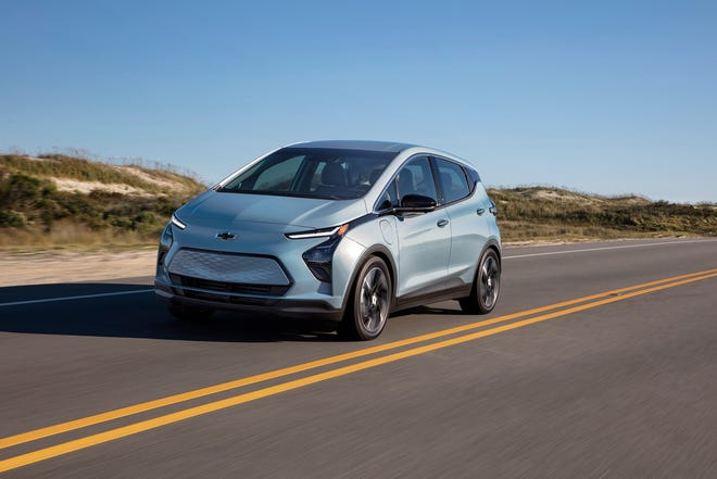 Chevrolet revealed the redesigned 2022 Chevrolet Bolt EV. It goes on sale this summer.