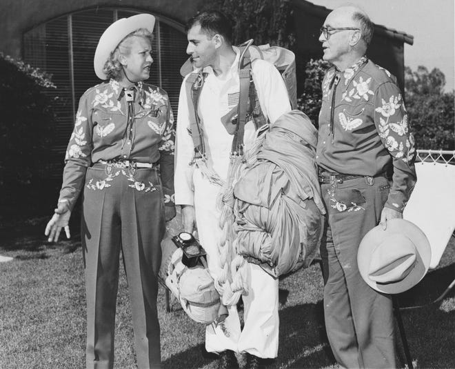 Jacqueline Cochran and Floyd Odlum were the most prominent of citizens in the eastern Coachella Valley.