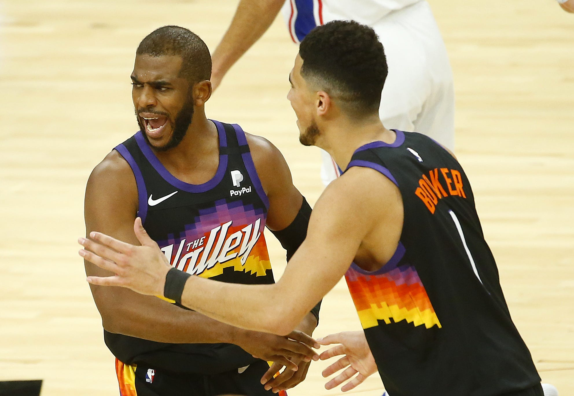 'A perfect marriage': Chris Paul, Devin Booker duo should be even better in Year 2