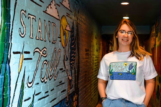 The Tallahassee Downtown Improvement Authority announced the sale of its new T-shirt. The design, created by Lindsey Masterson, will be available for sale Feb. 10 through Feb. 24.