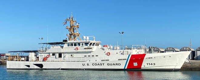 The Frederick Hatch is the latest Coast Guard cutter built by Bollinger Shipyards in Lockport.