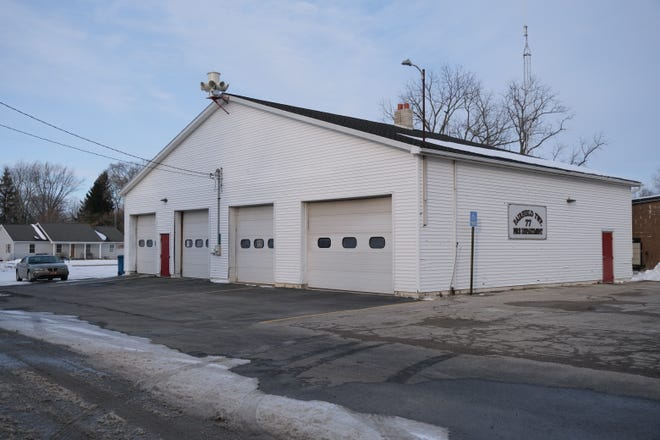 The Fairfield Township Fire Hall is pictured. At least six firefighters resigned in protest last week.