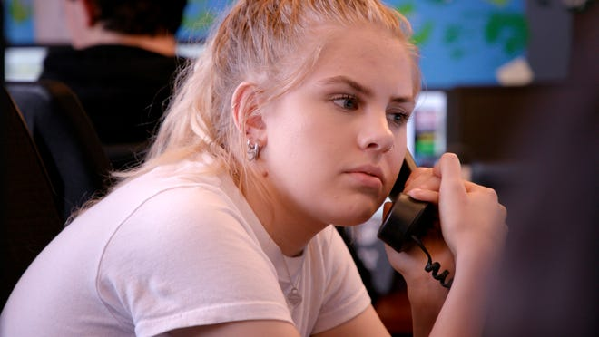 """Documentary film subject Emma is pictured in a scene from """"Each and Every Day,"""" about young people and suicide."""