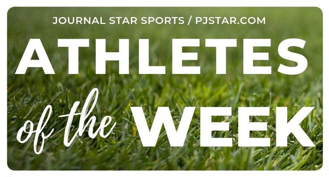 Journal Star athletes of the week