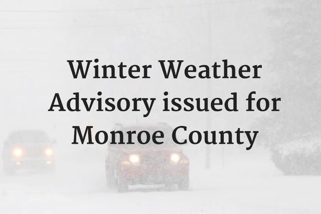 Winter Weather Advisory issued for Monroe County
