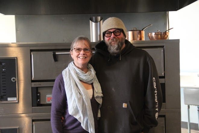 Kay and Rob Gebhardt  are about ready to open Smoked Tomato Pie in Yreka.