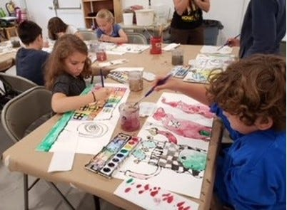 Westport Art Group is taking registrations for two sessions of its 2021 summer art camps for kids.