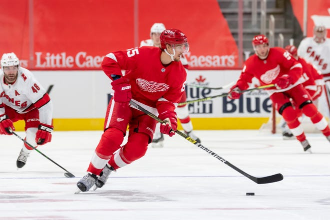 Red Wings defenseman Danny DeKeyser, 30, had surgery for a herniated disklast summer and has struggled to return to form this season.
