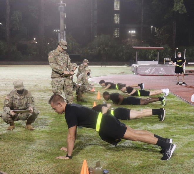 FSU's ROTC students train as early as 6 a.m.