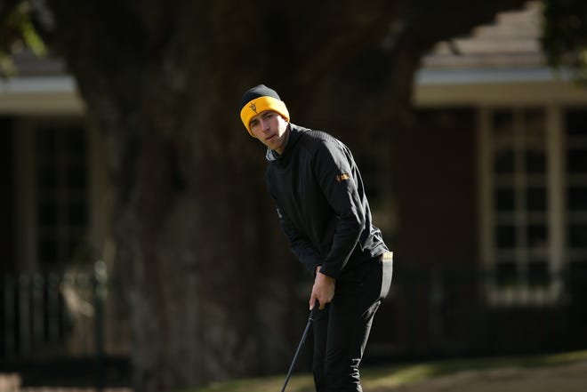 ASU sophomore golfer David Puig will try for a third consecutive individual title starting Monday at The Prestige, hoping to equal Phil Mickelson's similar run in 1991.