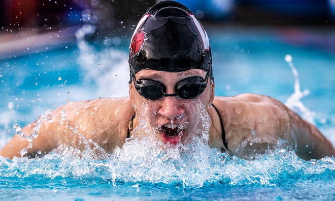 Weiss senior Ana Herceg will try and defend her state titles in the 200 and 500-yard freestyle races at this weekend's girls state swimming meet at the Bill Walker Pool and Josh Davis Natatorium in the Northeast school district in San Antonio.