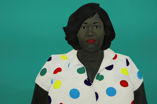 """""""The Girl Next Door,"""" Amy Sherald, 2019, is one of the works featured in the new HBO documentary, """"Black Art: In the Absence of Light."""""""