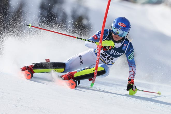 Mikaela Shiffrin's success has come three months after returning to ski racing from a 300-day break from competition following the death of her father in February 2020, the coronavirus pandemic and a back injury.