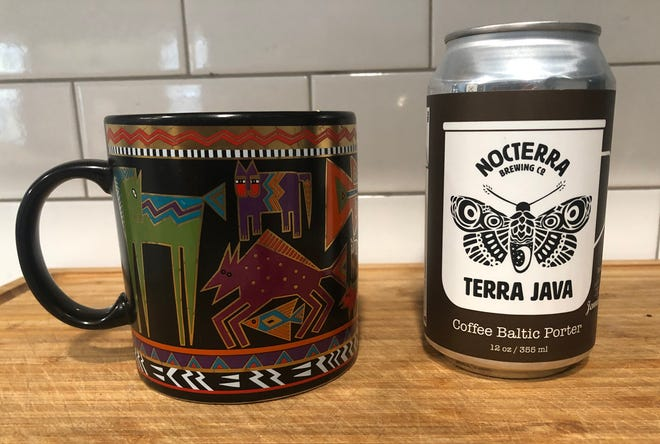 Could Nocterra's Terra Java Coffee Baltic Porter perhaps be enjoyed in a different type of mug?