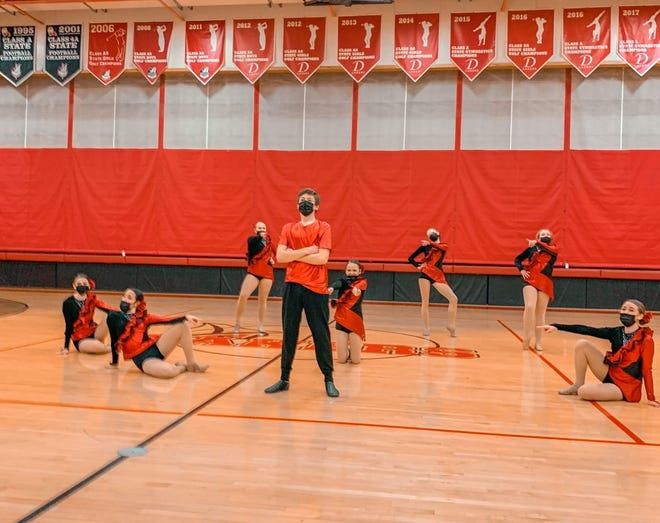 The Crookston dance team placed 11th in kick in Detroit Lakes this Saturday.
