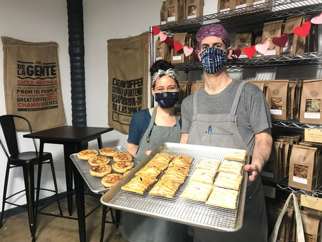 Husband and wife team of bakers Bethany and David Boran prepare a slew of baked goods Tuesday-Saturday at their shop B's Salty & Sweet at The Factory at Columbia from chocolate chip cookies to English muffins and homemade pop tarts.