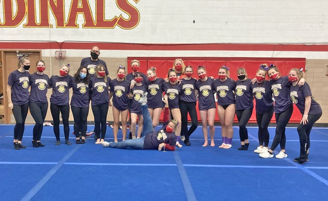 The Coldwater Cardinal Gymnastics program held their 11th annual Stick It For a Cure Invitational, which has become one of the biggest fundraisers for the Promedica Regional Cancer Center.