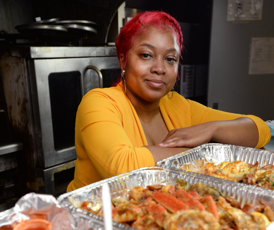 Natasha Pacely, once homeless, turned her passion for cooking into a degree and a place in Erie's Food Hall