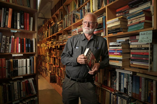 Ron Chamblin said it's not unusual for customers to tell him they're doing research for a book, but few of those sell nearly as many as Steve Berry, who uses Chamblin Bookmine to research his best-sellers.