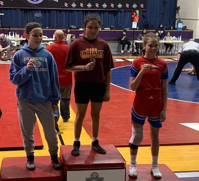 Hays High's Sarah Zimmerman earned a regional wrestling title last Saturday at Dodge City.