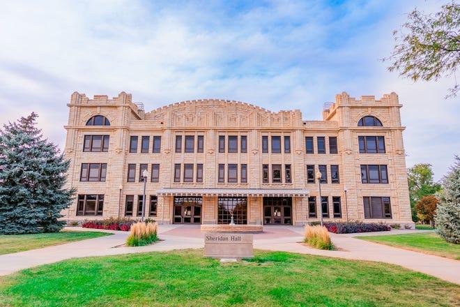 Sheridan Hall at Fort Hays State University