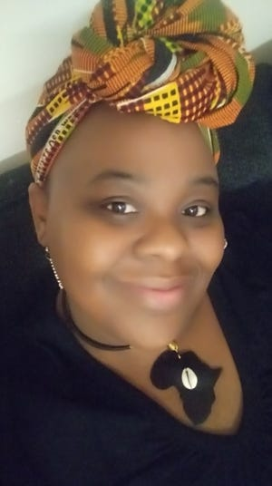 The Black History Collective of Henderson County, NC Founder Crystal Cauley.