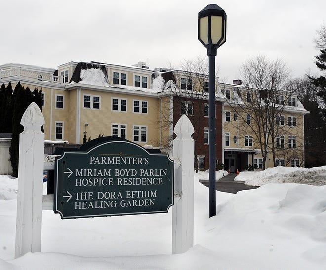 The Miriam Boyd Parlin Hospice Residence in Wayland, Feb. 15, 2021.