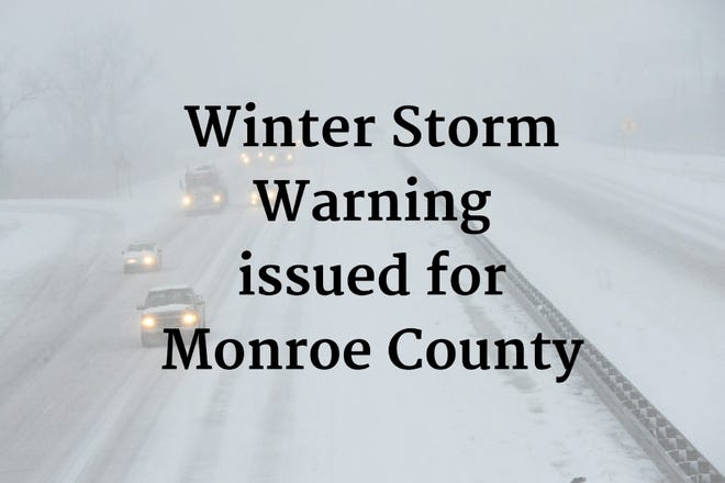 Winter Storm Warning for Monroe County