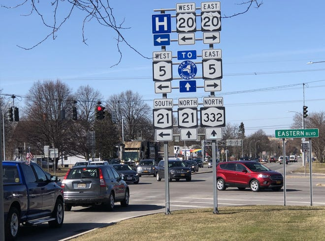 Canandaigua city and town leaders are hoping that a study of the lakefront area provides ideas for better getting residents and visitors from Canandaigua Lake to downtown through the Routes 5 and 20 and South Main Street/Lakeshore Drive intersection.