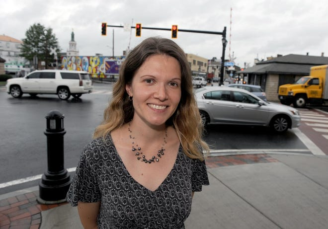 Courtney Thraen will be stepping down as executive director of Downtown Framingham Inc.