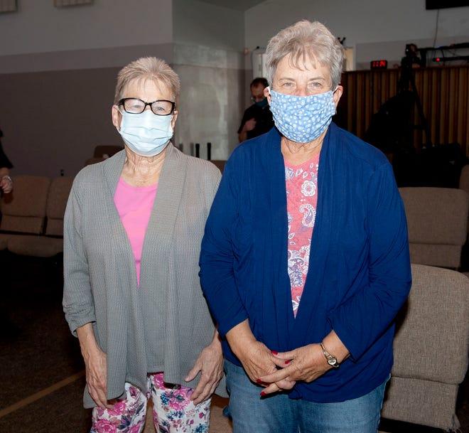 Diane Stephenson and Sandy Davis