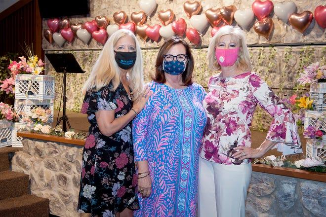 Christy Hintz, Katherine Trevisol and Charlotte DeLeu