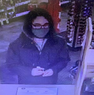 """The Kennebunk Police Department is asking for the public's help in identifying this individual, who held a """"concerning conversation"""" with a Pharmacist at the local CVS on Saturday."""
