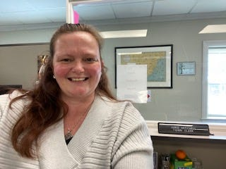 Jamie Mitchell is the new town clerk in Kennebunkport, Maine.