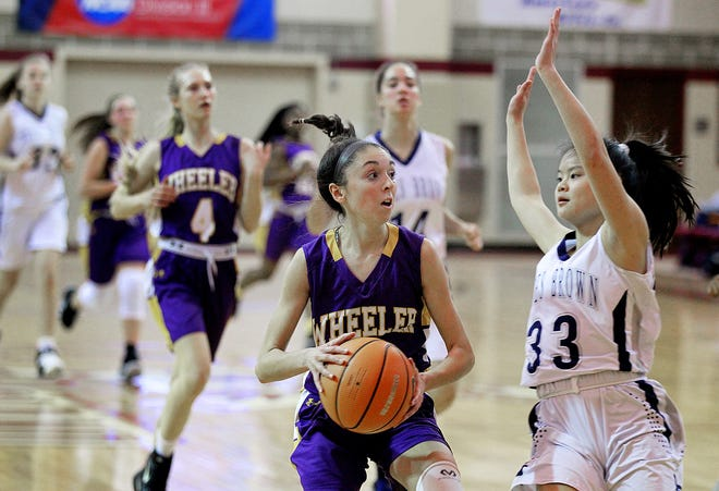 Wheeler's Kate Keenan (shown in action a couple years back) was an integral part of the Warriors' non-league win over St. Andrew's on Sunday.