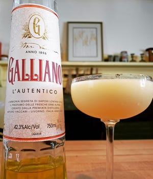 The Golden Dream, made with Galliano, a citrus Italian liqueur, was the Ciampa family cocktail.