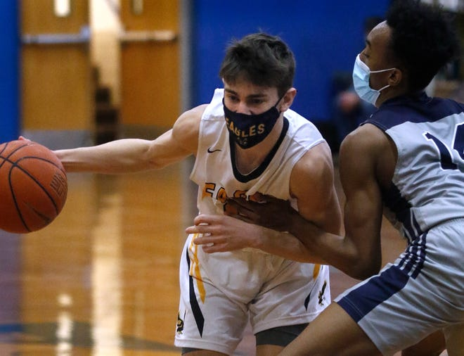Matt Raffa, Barrington's freshman guard, connected on six 3-pointers and finished with 20 points in Barrington's 81-43 win over Shea on Monday.
