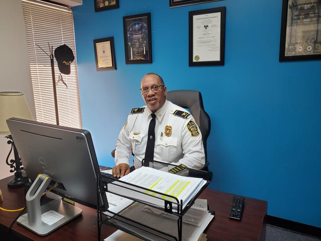 Alliance native Nathan Pollard was recently appointed chief of the Lithonia Police Department near Atlanta.