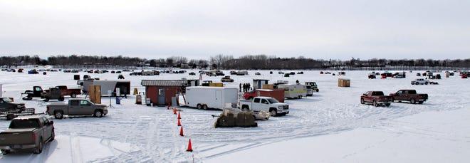 TheSleepyEyeSportsmen's Club's 39th Annual Fishing Derby drew many avid anglers to the ice of Sleepy Eye Lake on a frigid day, Sunday, Feb. 7.
