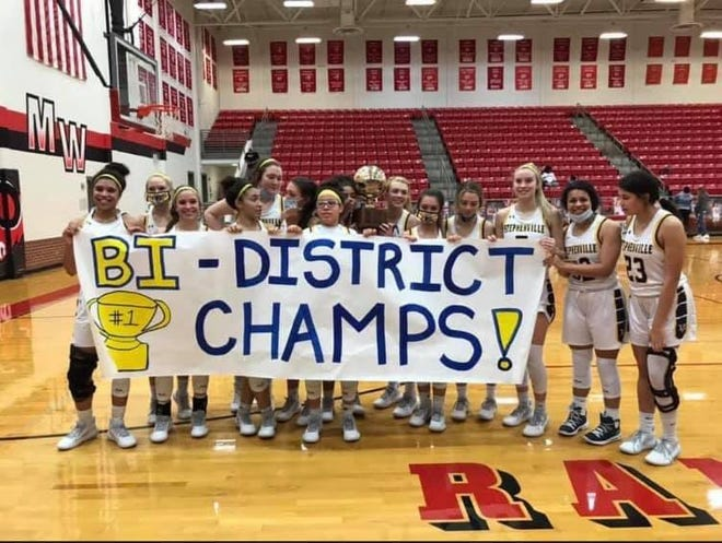 The No. 5 Stephenville High School Bees (21-2) beat Hirschi, 51-39, on Friday at Mineral Wells High School to take the Bi-District Championship. Due to winter weather, the Bees' Area Playoff game vs. Bridgeport has been postponed until a makeup date is set later this week.