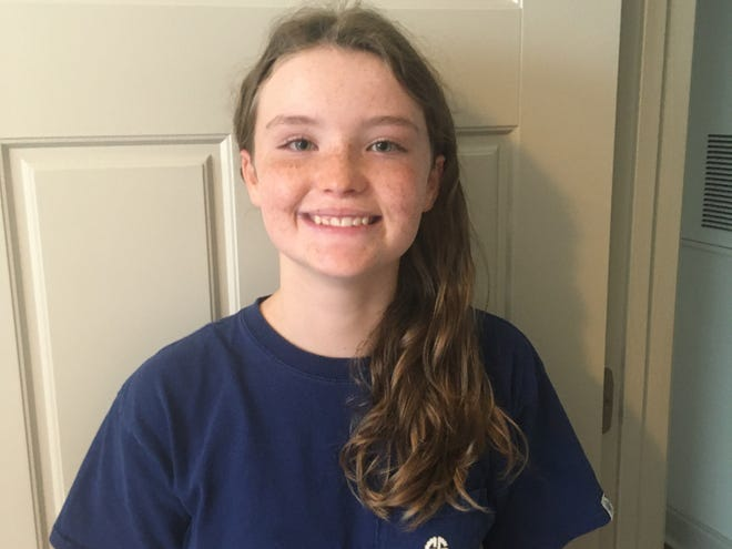Kenadi Finney of Trask Middle School is New Hanover County Schools' Student of the Week