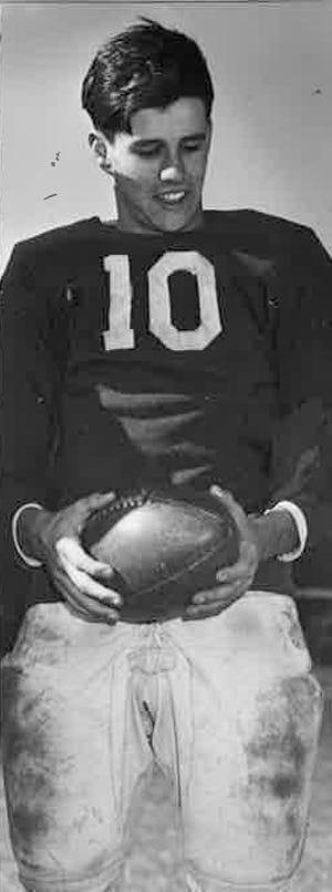 "Don ""Ducky"" Thatcher was an all-star football player at Dartmouth High."