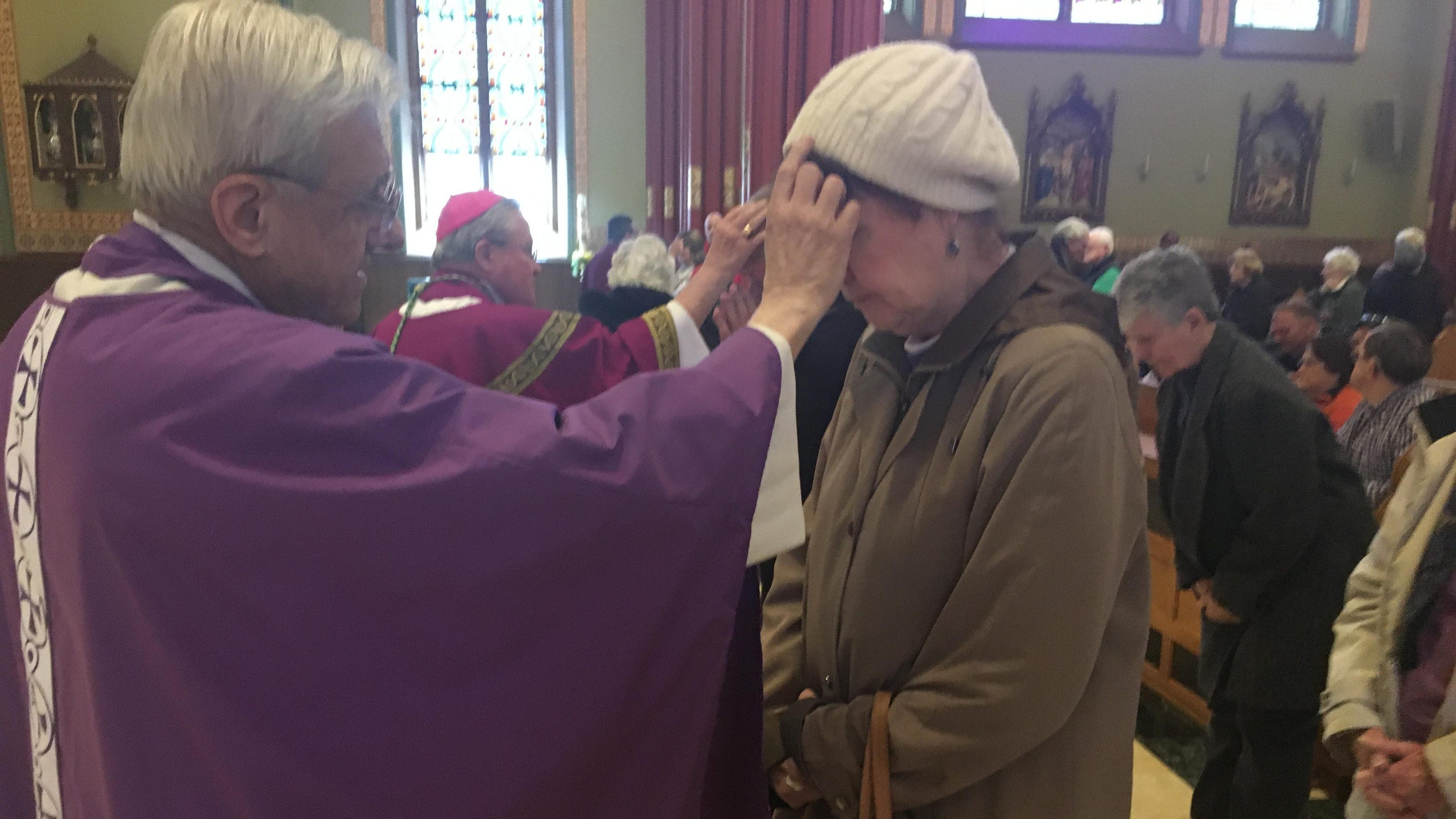 Local churches expect fewer people for Ash Wednesday