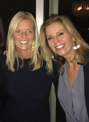 Simone Christenson, left, and Linda Livingston, both originally from The Netherlands and who are now living on the South Shore, have opened an upscale consignment shop, Re.Style Consignors, in Cohasset.